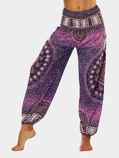 Boho Party Loose Yoga Pants