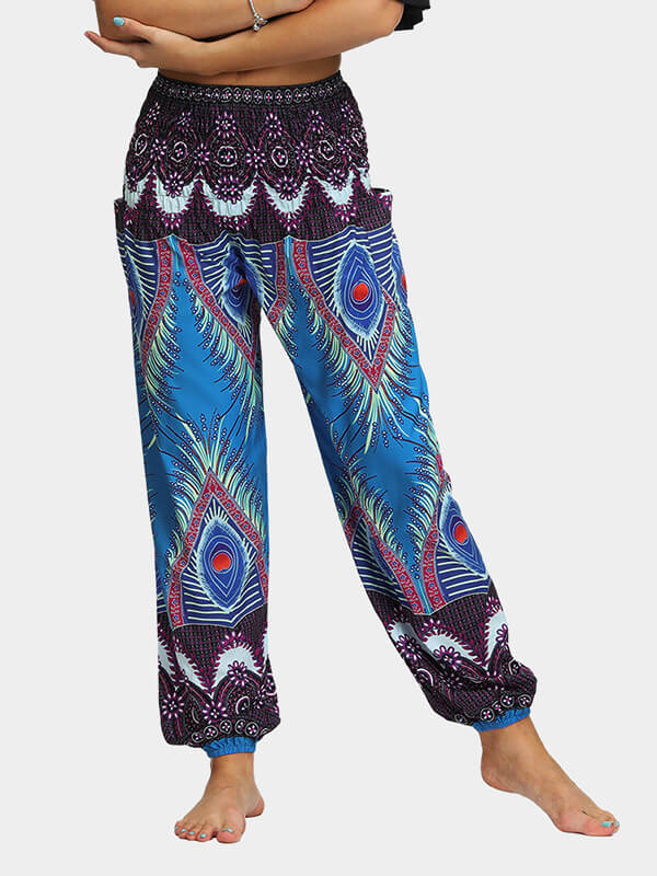 Boho Park Loose Yoga Pants