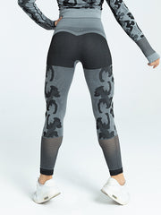 Women's Tight Camouflage Yoga Pants