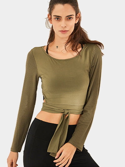 LikeBunny Long Horizons Sports Top