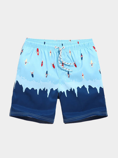 Men's Painted Beach Shorts