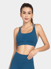 Women's Solid Color Yoga Bra