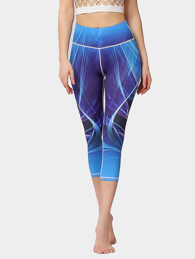 Women's Printed Tight Yoga Pants