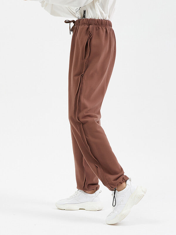 Men's Solid Color Casual Trousers