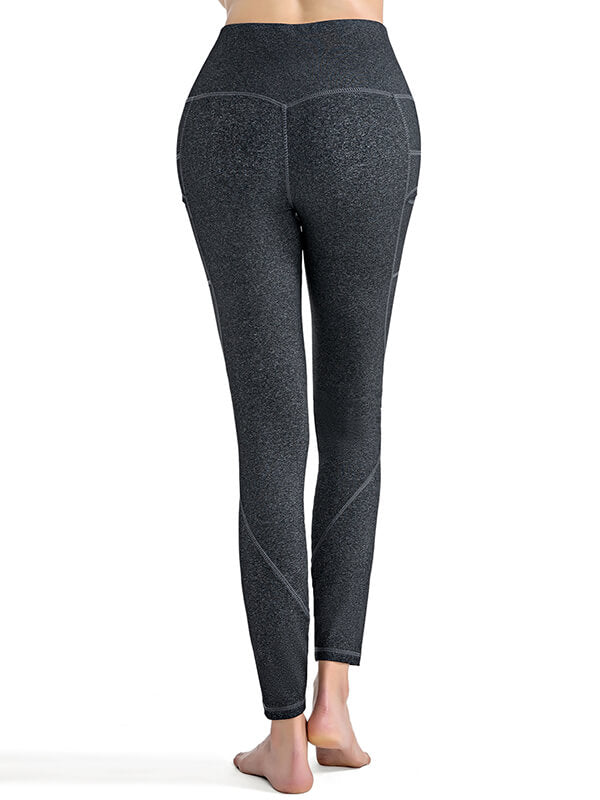 LikeBunny Modest High-Rise Tight Sports Leggings 28""