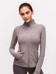 LikeBunny Zipped Stretchy Sports Jacket
