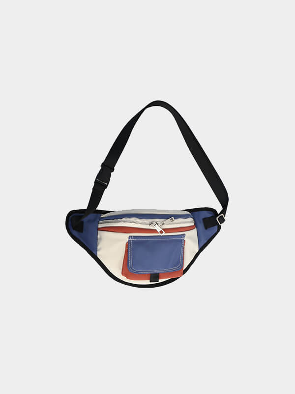 LikeBunny Color Block Waist Bag