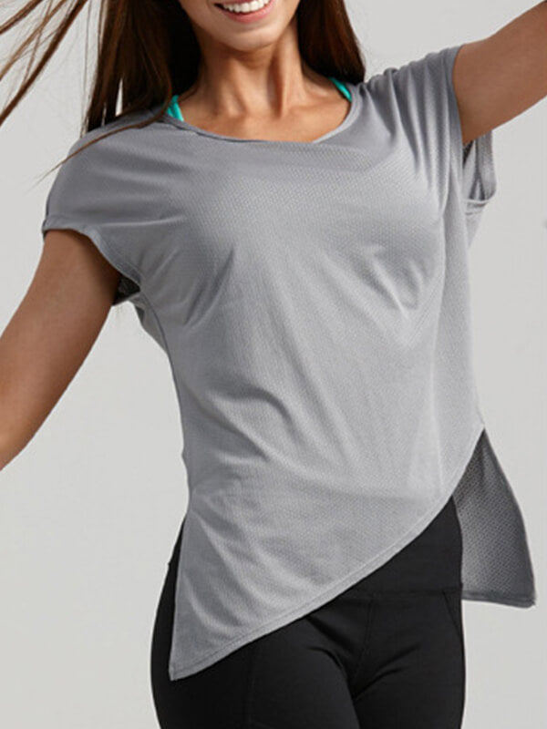 LikeBunny Retreat Yourself Short-sleeve Sports Top
