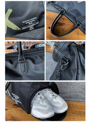 LikeBunny Cross Your Mind Gym Bag