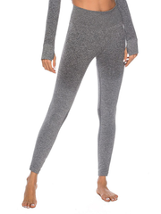 "LikeBunny Ombre High-Rise Yoga Leggings 28"" Grey"