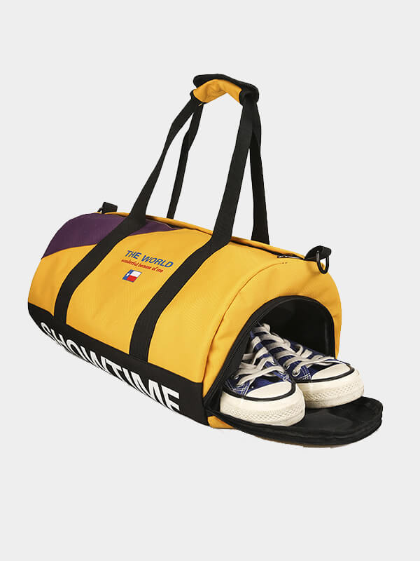 LikeBunny Roll To World Gym Bag