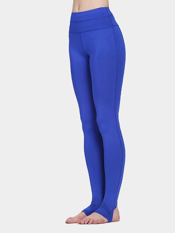 Women's Solid Color Tight-Fitting Yoga Pants