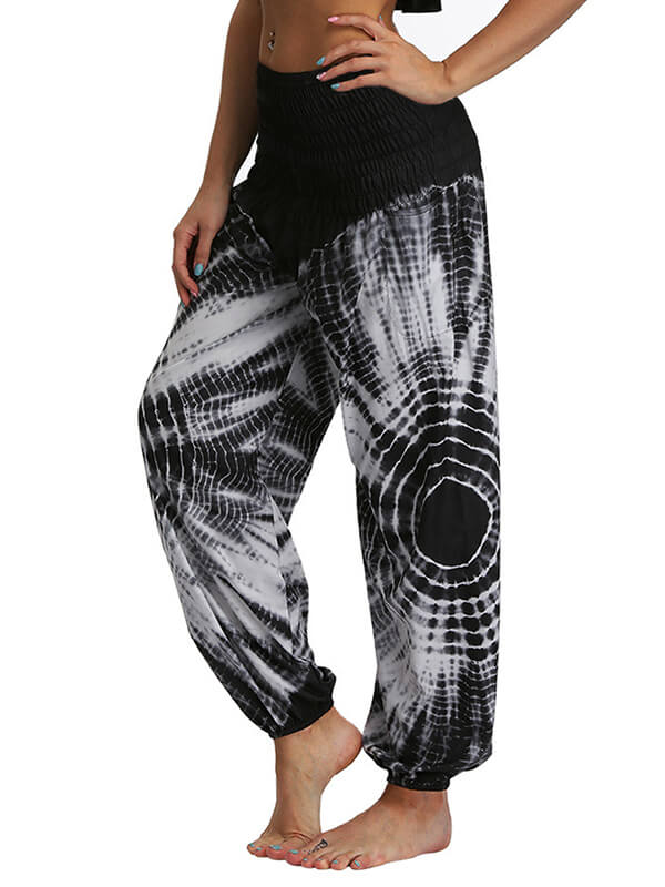 Women's Rendering Loose Yoga Pants