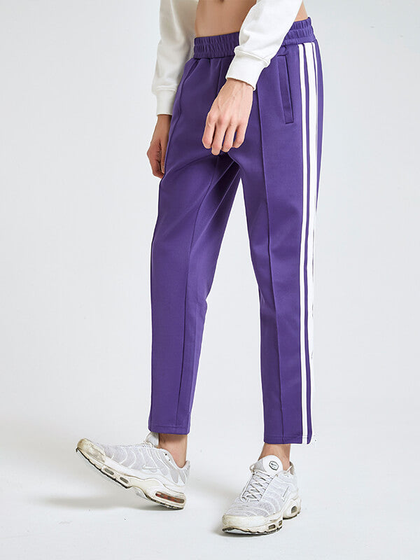 Men's Side Striped Casual Trousers