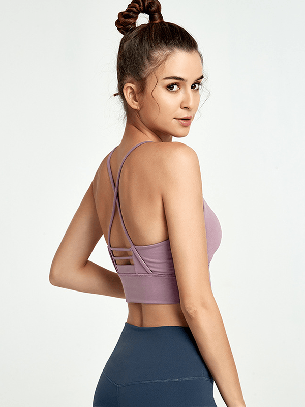 LikeBunny Rolling On Medium Impact Sports Bra