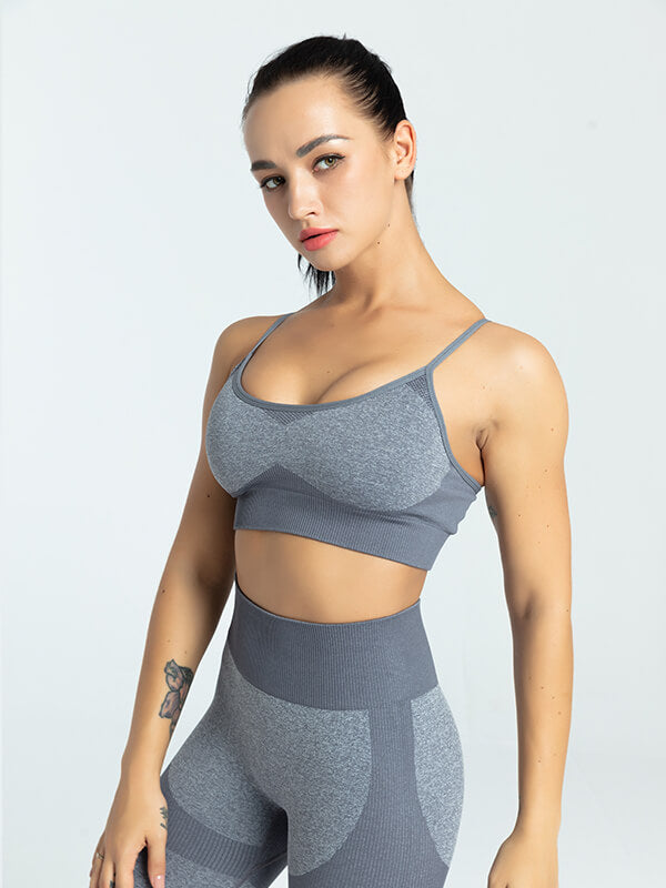 Women's One Color Sports Bra
