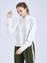 Likebunny Realize Tone Long Sleeve Crop Top