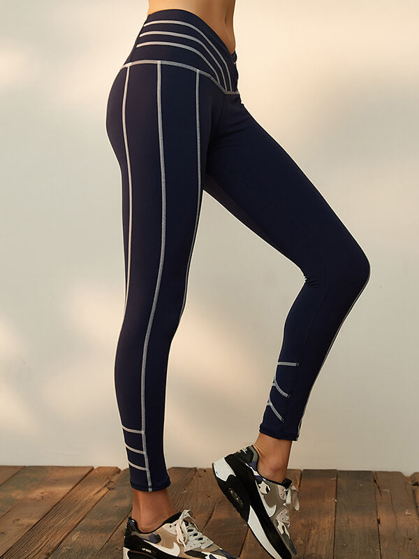 LikeBunny V-Shape High Rise Tight Sports Legggings