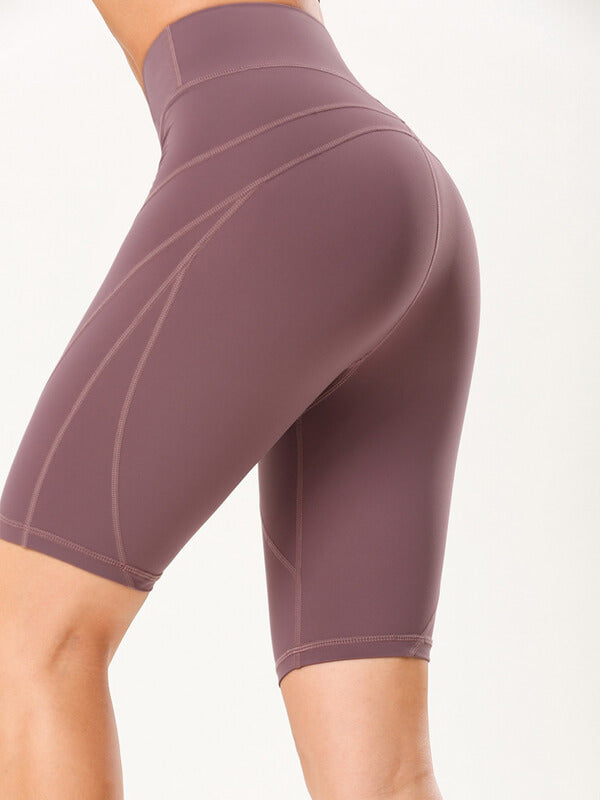 LikeBunny High-Rise Tight Sports Shorts 10""
