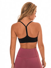 LikeBunny Flow Y Bra Medium Impact Sports Bra black