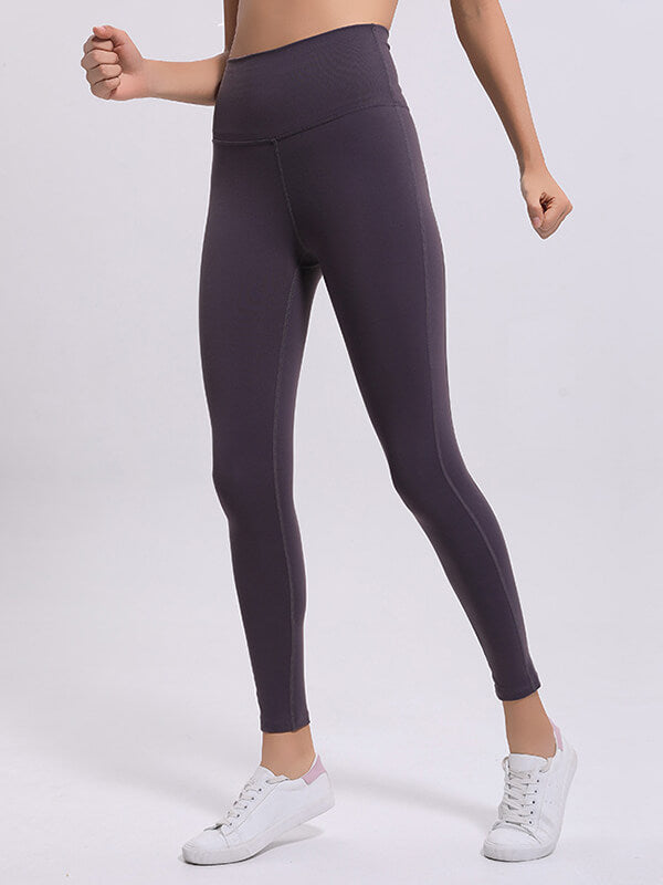 LikeBunny Time To Sweat High-Rise Splice Sports Leggings 28""