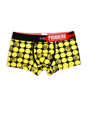 LikeBunny Portrait Printed Trunk 1232 yellow
