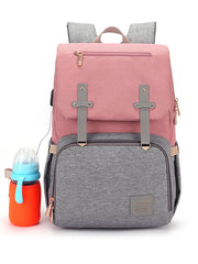 LikeBunny Functional Mummy Diaper Backpack