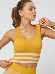 Women's Stripe Yoga Vest