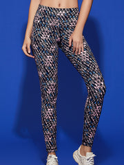 LikeBunny Lightweight Buttery-Soft High-Rise Printed Sports Leggings