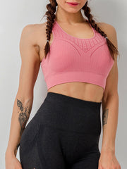 Women's Soild Color Sport Bra