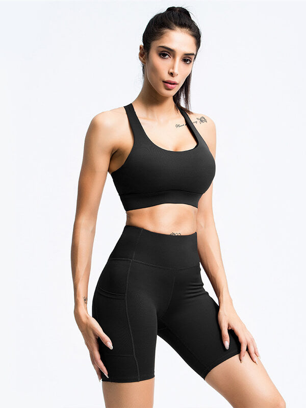 LikeBunny Women's Tuck Jump Sports Suit