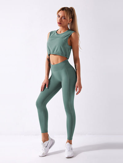 Seamless String Gym Suit