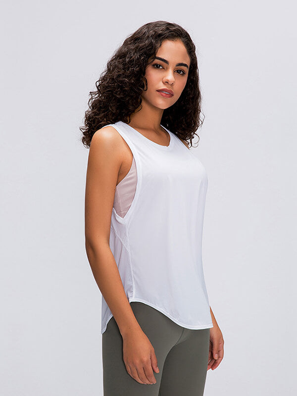 Dance To Music Open-back Sports Top