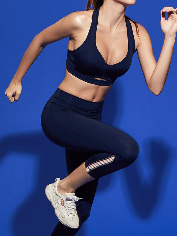 LikeBunny T-Back Sports Bra