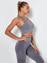 LikeBunny Over That Gap Gym Bra