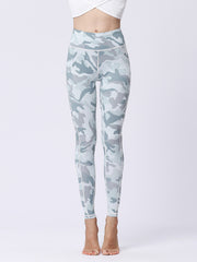 likeBunny Camo Seamless High Waisted Tight Leggings 28""