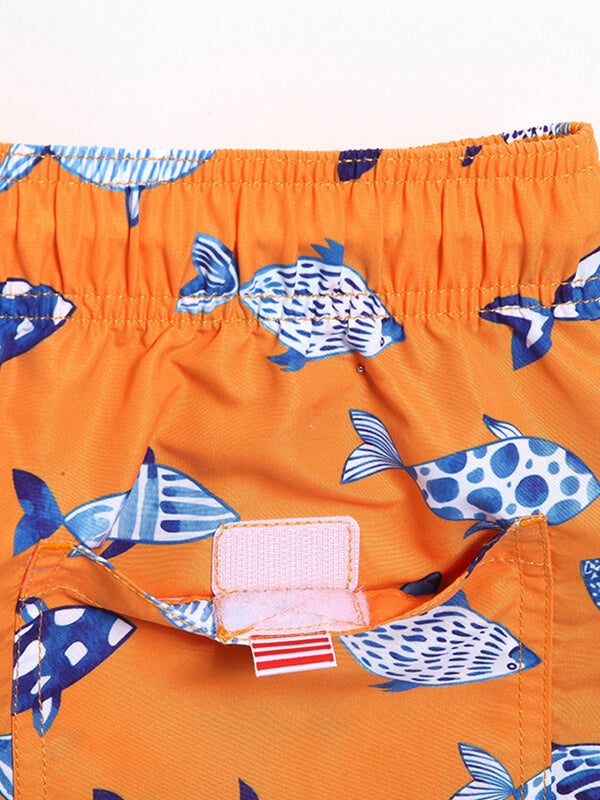 Couple's Tropical Fish Beach Shorts