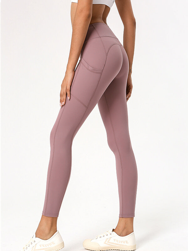 LikeBunny Speed Sports Leggings with Pocket 28""
