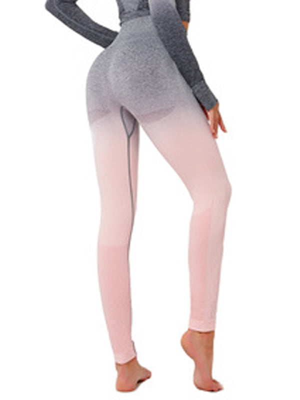 LikeBunny Ombre High-Rise Yoga Leggings 28""