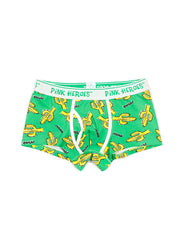 LikeBunny Couple's Cactus Pattern Matching Underwear