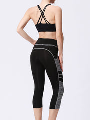 LikeBunny High Waist Sports Leggings with Pocket