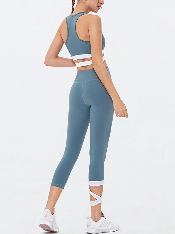 LikeBunny Women's Cross Tight Sport Suit