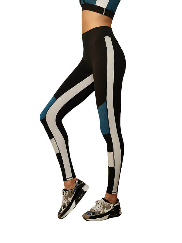 LikeBunny Stitches Tight Sports Leggings 28""