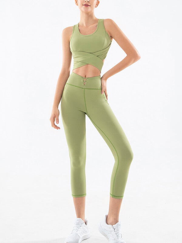 LikeBunny Women's Tight Yoga Sports Suit