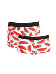 LikeBunny Couple's Watermelon Pattern Matching Underwear