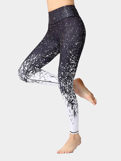 Women's Night Running Workout Leggings 28""