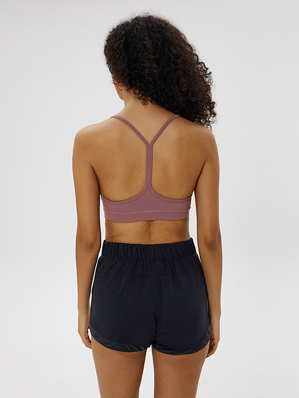 LikeBunny Flow Y Bra Medium Impact Sports Bra concerto