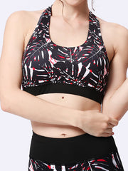 LikeBunne Fishborn Painted Matching High-Rise Sportswear - Sports Bra