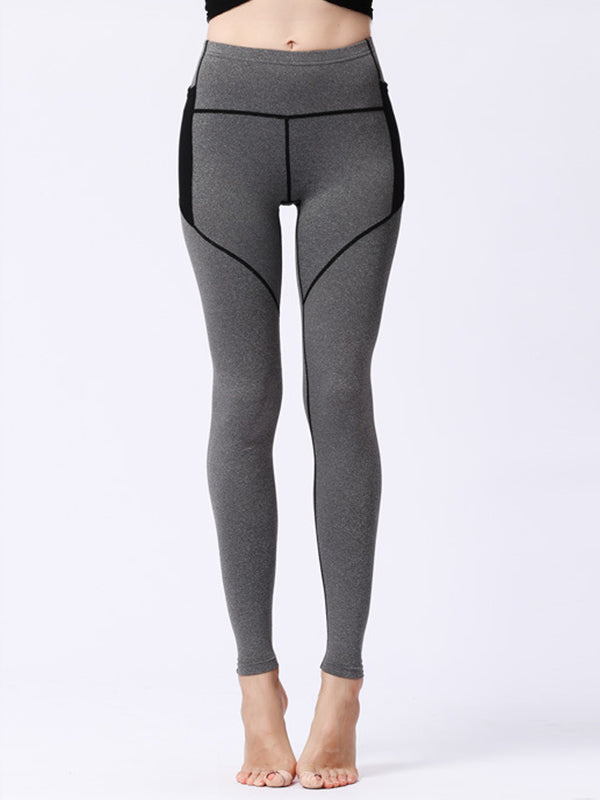 LikeBunny Tummy Contral Tight Leggings with Pockets 28""