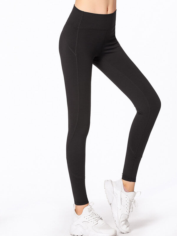 "LikeBunny High-Rise Tight Sports Leggings 28"" Black"